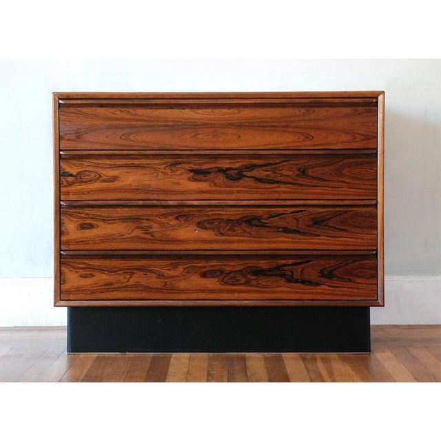 Mid-Century Modern Brazilian Rosewood Dresser - Image 2 of 8