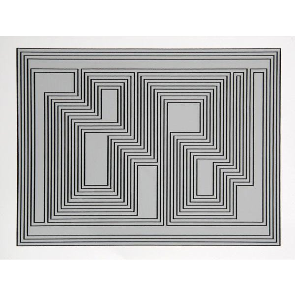 "Josef Albers ""Portfolio 1, Folder 32, Image 1"" Print For Sale"