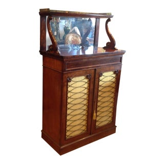 19th Century English Dry Bar / Chiffonier For Sale