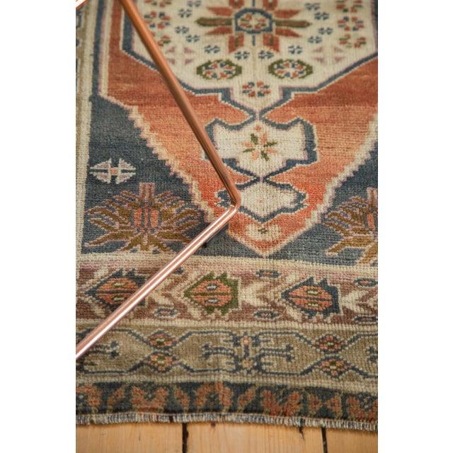 """Vintage Oushak Rug - 2'8"""" x 4'2"""" For Sale - Image 9 of 10"""