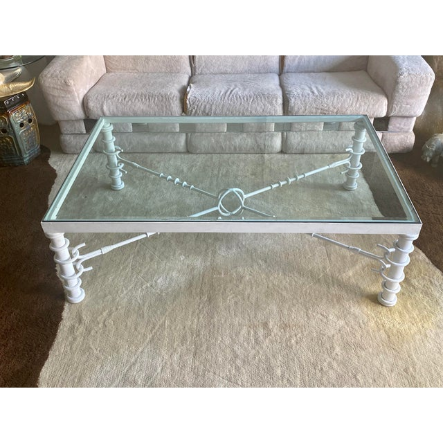 Giacometti Style Coffee Table For Sale - Image 10 of 11