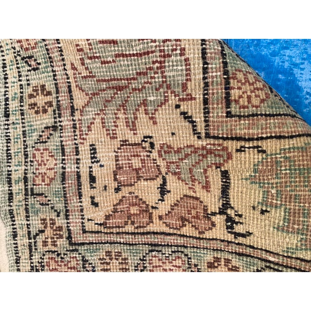 Textile Antique Persian Area Rug- 4′9″ × 6′5″ For Sale - Image 7 of 9