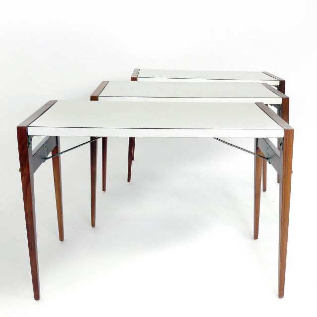 1950s Vintage John Keal for Brown Saltman Side Table For Sale - Image 5 of 6