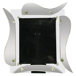 Hollywood Regency Mirrored Photo Frame For Sale
