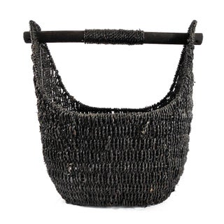 Balinese Black Seagrass Large Basket Preview