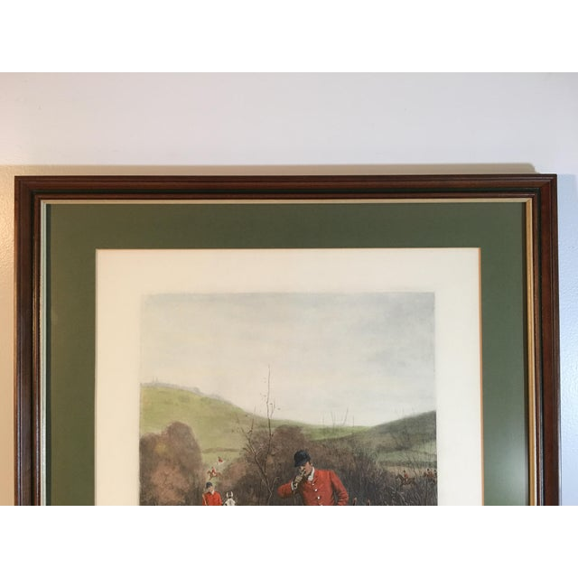 Antique Framed English Hunting Prints - a Pair | Chairish