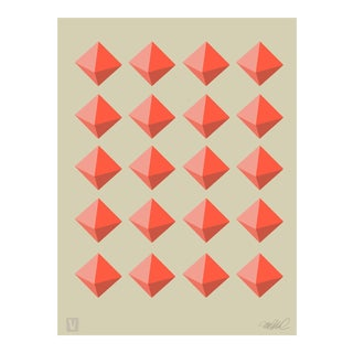 "Diamond Grid. Giclee Print, 11x15"" For Sale"
