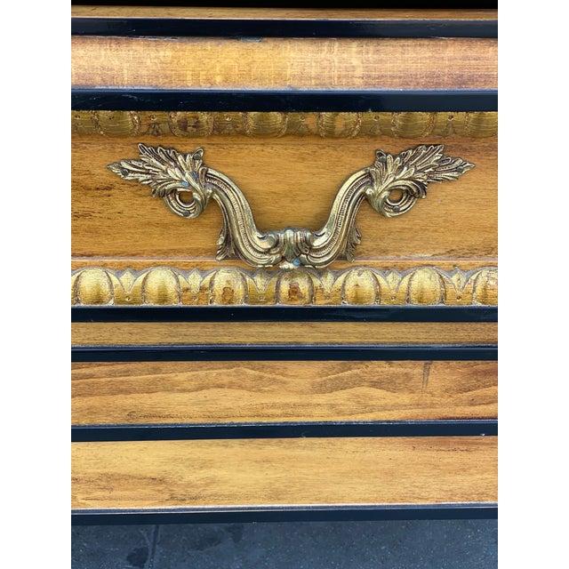 Vintage Hollywood Regency Dresser Commode For Sale - Image 4 of 13