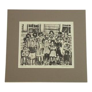 "Caroline Jones ""Little Girls"" Print"