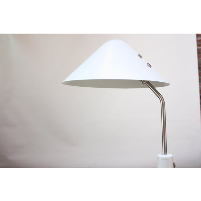 Jørgen Gammelgaard Floor Lamp in Aluminum and Chrome For Sale In New York - Image 6 of 13