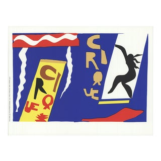 Henri Matisse 'The Circus' Modernism Blue,Multicolor France Serigraph For Sale