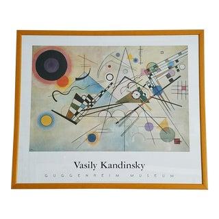 Framed Kandinksy Print - Composition VIII