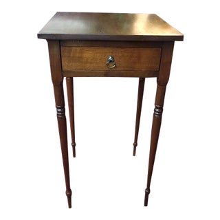 Tall Antique Work Table For Sale