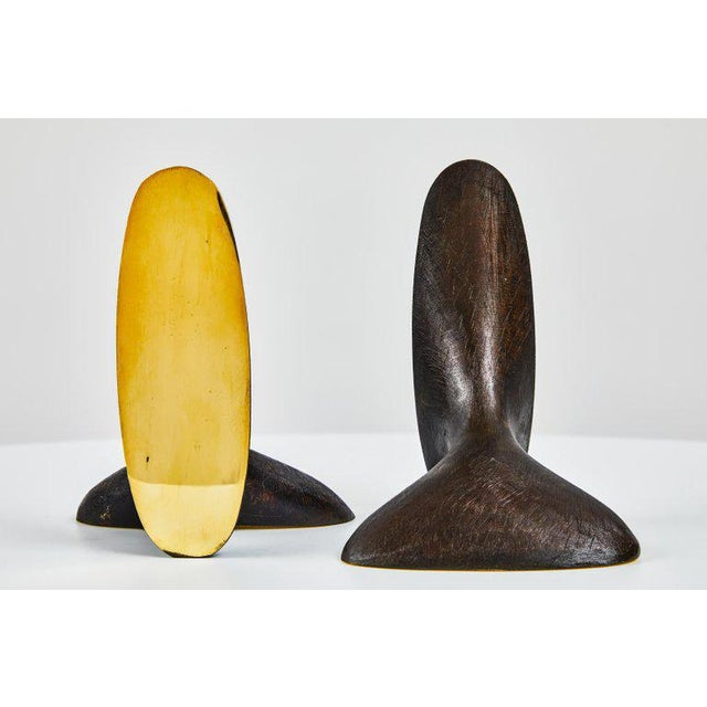 2010s Carl Auböck Model #3653 Brass Bookends - A Pair For Sale - Image 5 of 8