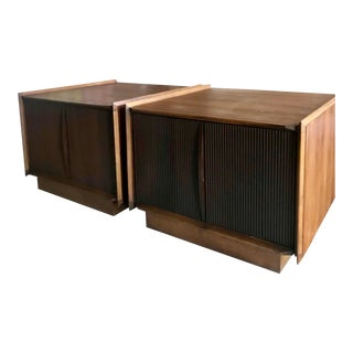"""Pair of Lane """"First Edition"""" Side Tables Mid Century Modern, 1966 For Sale"""