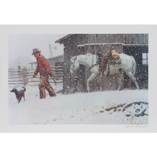 Duane Bryers, Ornery Day, Lithograph For Sale
