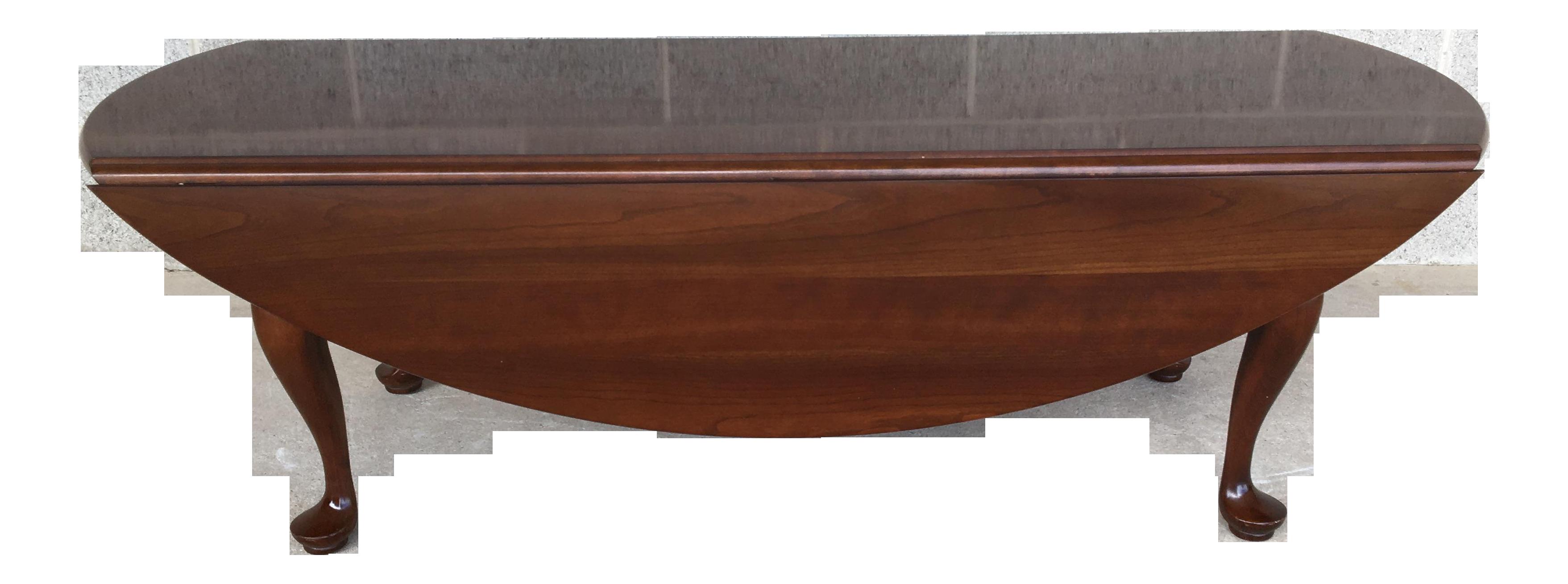 - Stickley Cherry Valley Queen Anne Drop Leaf Coffee Table Chairish