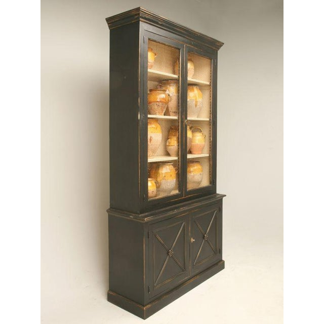 Our personal favorite, reproduction bookcase in the Directoire style made from reclaimed timber and finished off with...