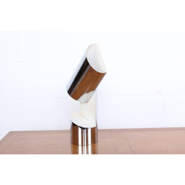 Arredoluce Pivoting Table Lamp by Arredoluce For Sale - Image 4 of 10
