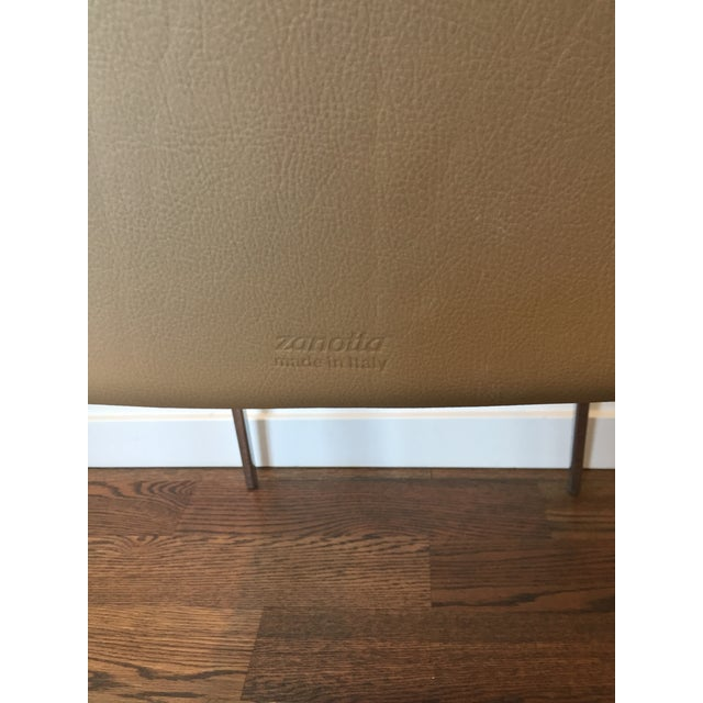 Zanotta Lia Chair in Leather For Sale - Image 4 of 7