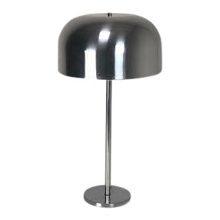 Laurel Chrome Mushroom Table Lamp