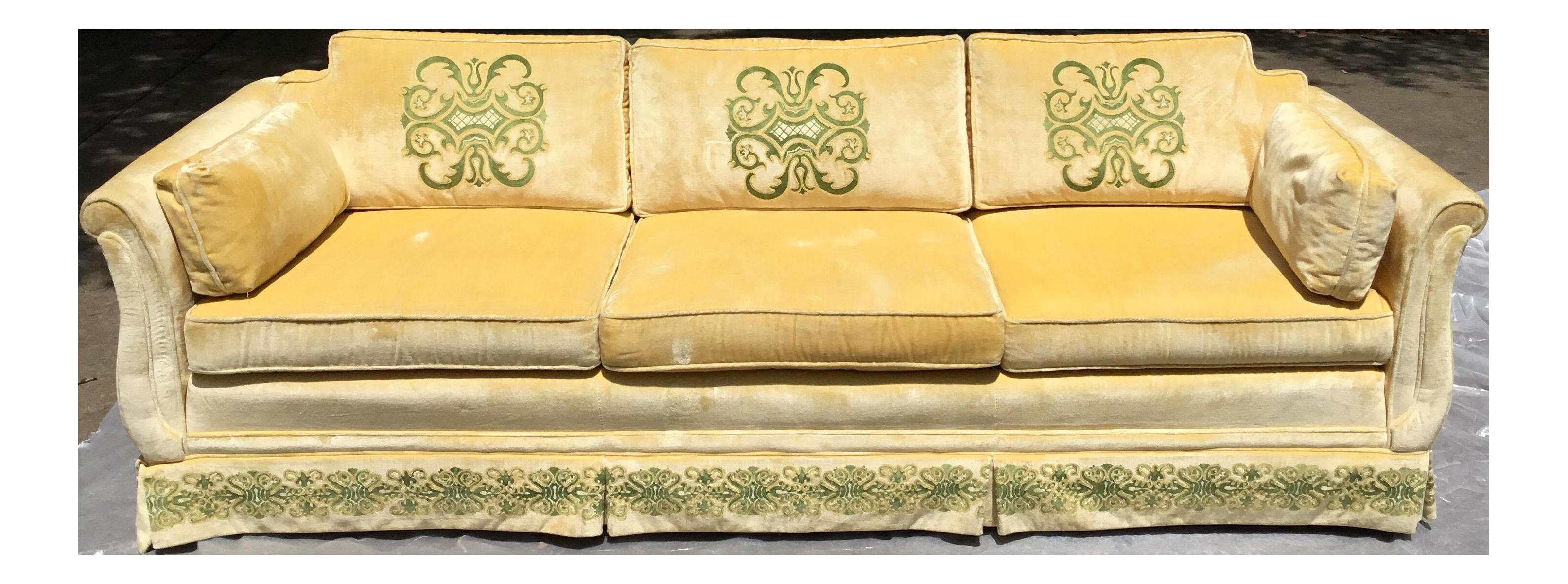 Vintage Highland House Of Hickory Sofa