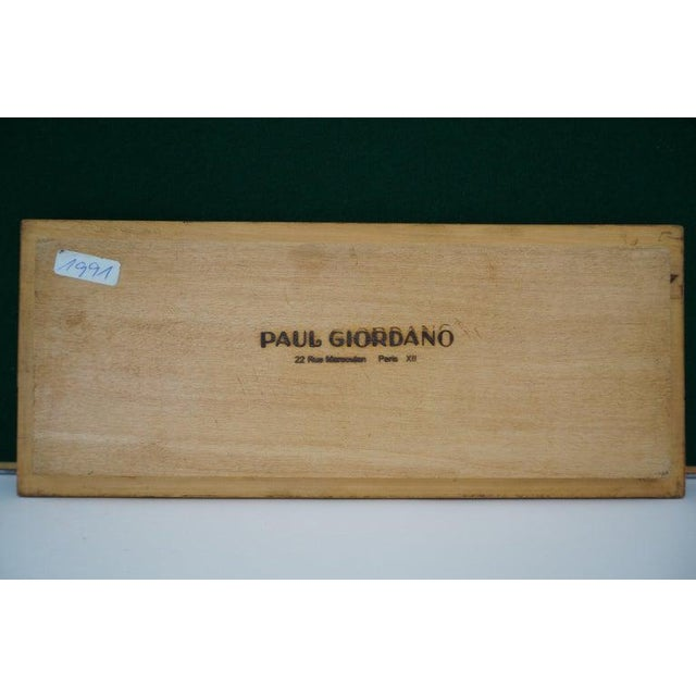 1920s Art Deco 1920s Paul Giordano Paris Serving Tray Exotic Wood Parquet For Sale - Image 5 of 12