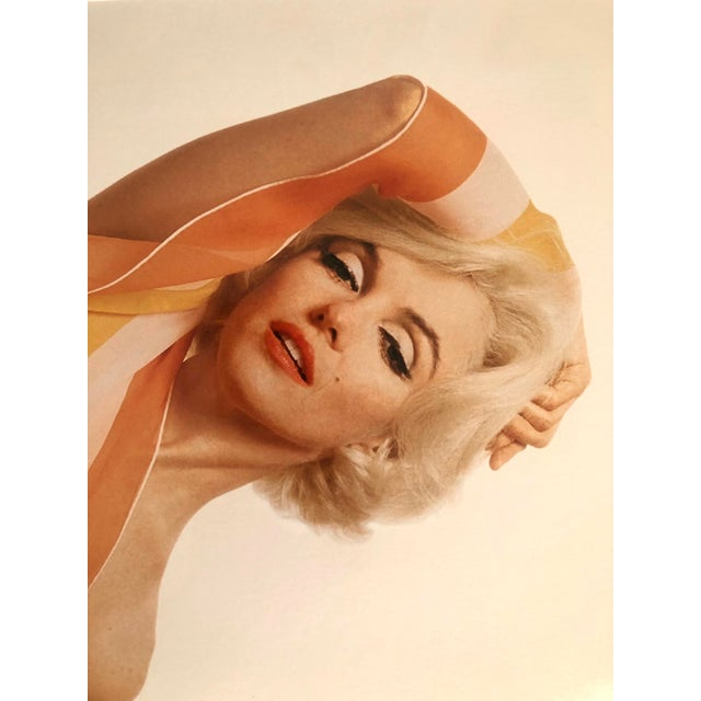 2000 - 2009 Marilyn Monroe / Striped Scarf Bert Stern Photograph Circa 1962 For Sale - Image 5 of 11