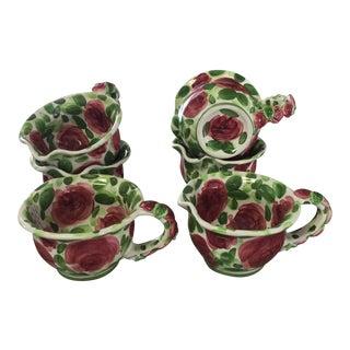 Emily Rose Ceramic Soup Dishes - Set of 6