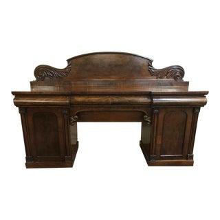 19th C. Regency Mahogany Sideboard