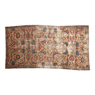 """Antique Persian Sultanabad Carpet - 4'3"""" X 8'2"""" For Sale"""