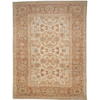 "Hand-Knotted Palatial Carpet - 14'6"" x 19' For Sale"