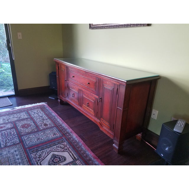 South Cone Brentwood Cognac Credenza - Image 3 of 6