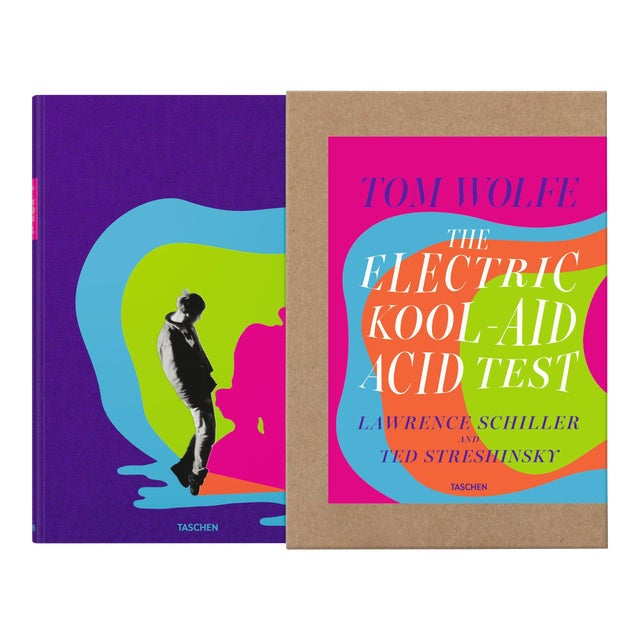 """""""The Electric Kool-Aid Acid Test"""" Autographed by Tom Wolfe Photography by Lawrence Schiller & Ted Streshinsky Collector's Edition For Sale"""