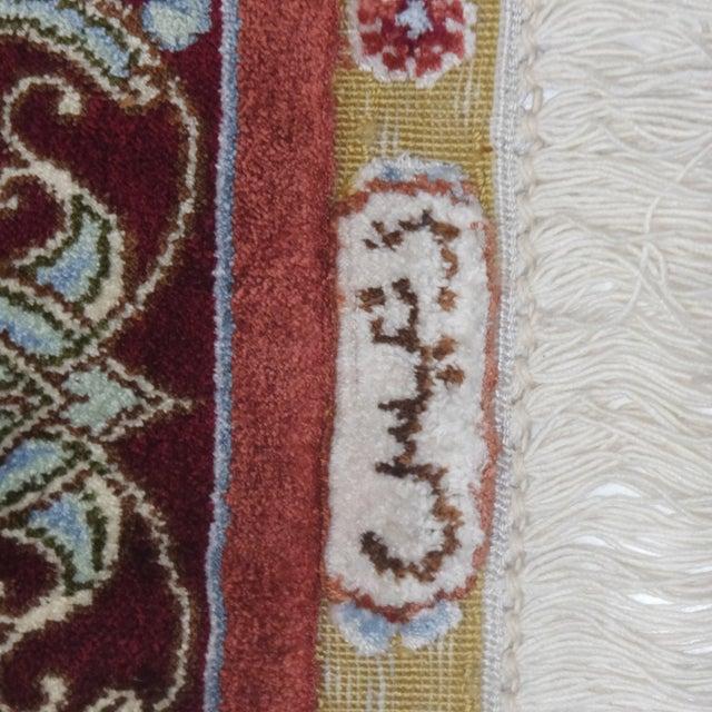Sino Persian Silk Rug - 4' x 6' - Image 6 of 7