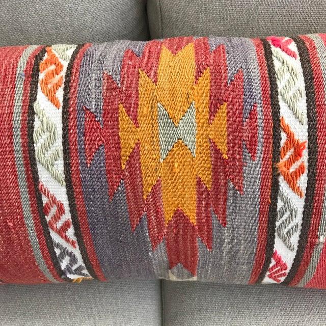 Long Kilim Bed Cushion - Image 4 of 5