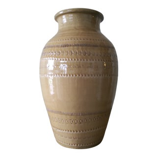 "Large 16"" Bitossi Style Vase For Sale"