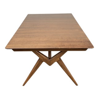 1960's Mid Century Modern Jon Stuart Inc Dining Table For Sale