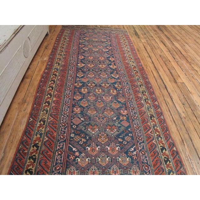 Islamic Antique Sumak Runner For Sale - Image 3 of 7