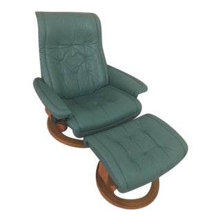 gently used ekornes asa furniture up to 40 off at chairish. Black Bedroom Furniture Sets. Home Design Ideas