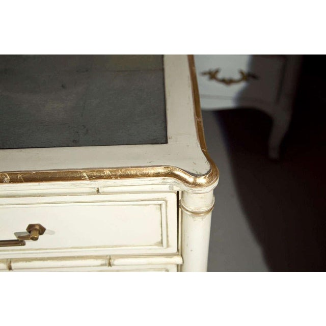 Hollywood Regency Faux Bamboo Dresser For Sale - Image 4 of 6