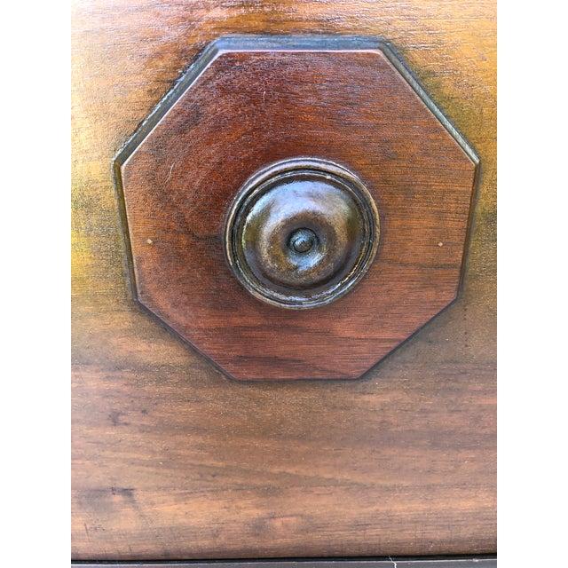 Antique Solid Wood Desk For Sale - Image 10 of 11
