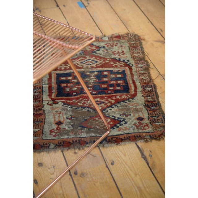 """Antique Anatolian Rug Mat - 1'10"""" x 2'8"""" For Sale In New York - Image 6 of 6"""