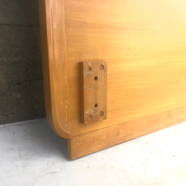 Mid-Century Full Size Headboard by Edward Wormley for Drexel For Sale In New York - Image 6 of 12