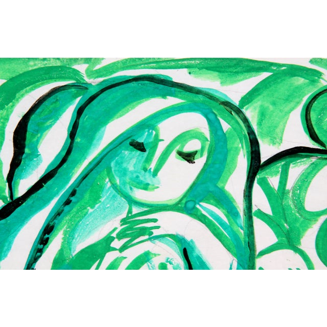 Figures in Green by Phillip Callahan - Image 2 of 3