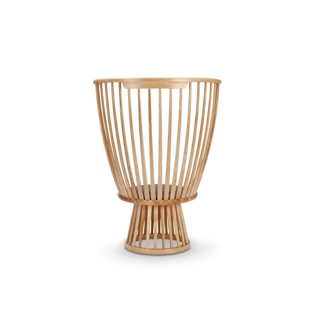 Tom Dixon Tom Dixon Fan Chair in Natural For Sale - Image 4 of 7