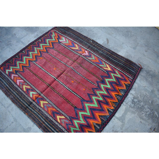This Kilim will add a stunning design accent to your home. Whether you have hardwood floor, carpet or tiles with stunning...