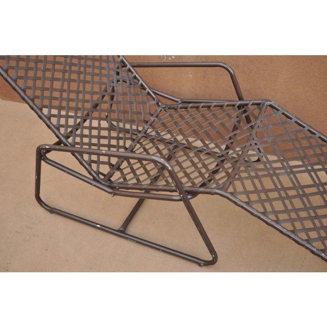 Mid-Century Modern Late 20th Century Vintage Brown Jordan Kantan Tamiami Tilt Lounge Chair For Sale - Image 3 of 10