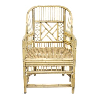 Vintage Brighton Style Bamboo/Rattan Chair