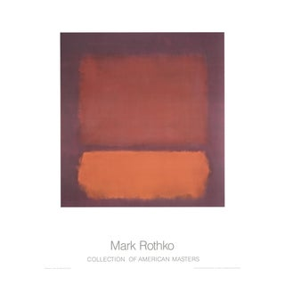 Mark Rothko, Untitled (1962), Offset Lithograph For Sale